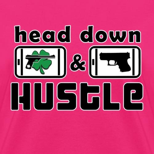 Head Down & Hustle Tee - Women's T-Shirt