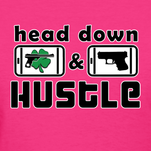 Head Down & Hustle Tee - Women's T-Shirt