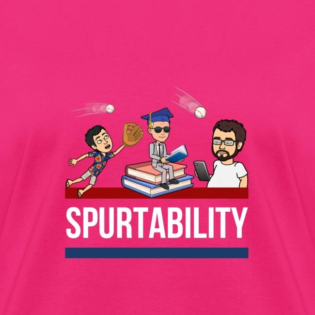 Spurtability White Text