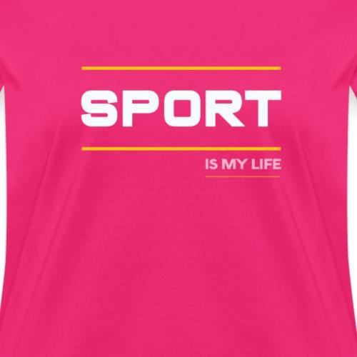 TShirt That Says Sports - Sports TShirt - Women's T-Shirt
