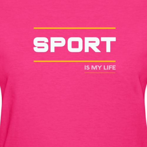TShirt That Says Sports - Sports TShirt - Women's T-Shirt