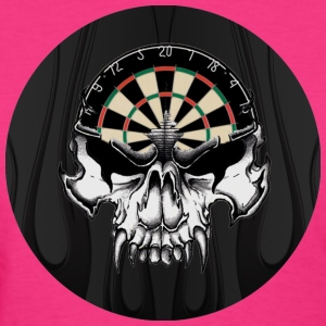Darts Skull Dart Players Choice - Women's T-Shirt