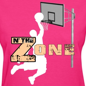 Basketball Zone - Women's T-Shirt
