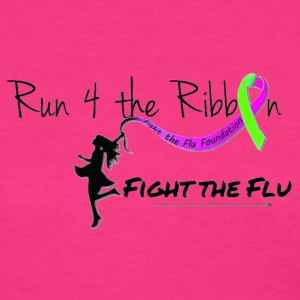 RUN 4 THE RIBBON - Women's T-Shirt