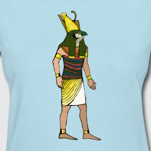 Ancient Egyptian Painting - Horus, the Falcon God - Women's T-Shirt