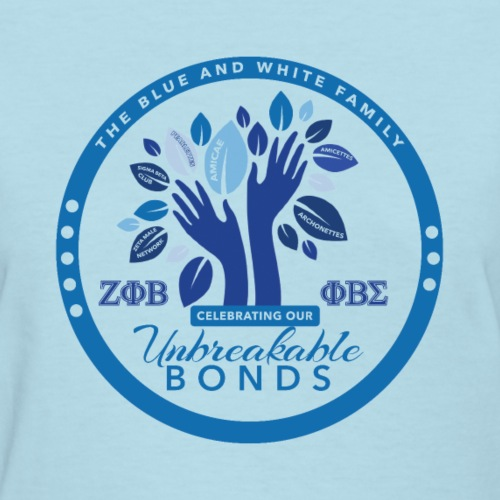 v1 - Female Amicae Blue T-Shirt (SM - 2XL) - Women's T-Shirt