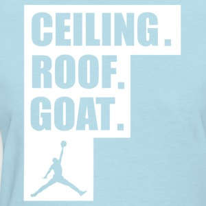 ceiling roof goat shirt - Women's T-Shirt