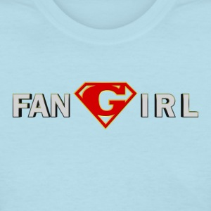 Supergirl - Fangirl - Women's T-Shirt