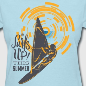 Surf is Up This Summer - Women's T-Shirt