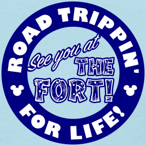 RT See you at the Fort Blue - Women's T-Shirt