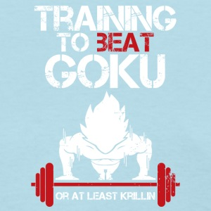 dragon ball super saiyan training to beat goku - Women's T-Shirt
