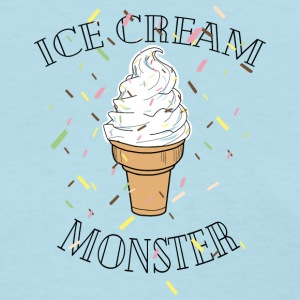 Ice Cream with Streusel. - Women's T-Shirt