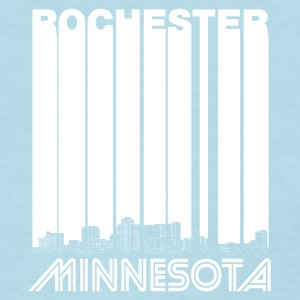 Retro Rochester Minnesota Skyline - Women's T-Shirt
