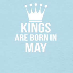 kings are born in may - Women's T-Shirt