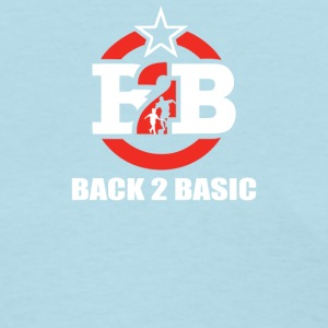 Back To Basics To Foot Ball - Women's T-Shirt