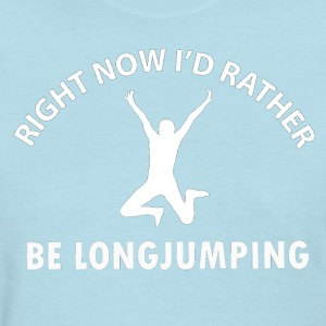 long jumping - Women's T-Shirt