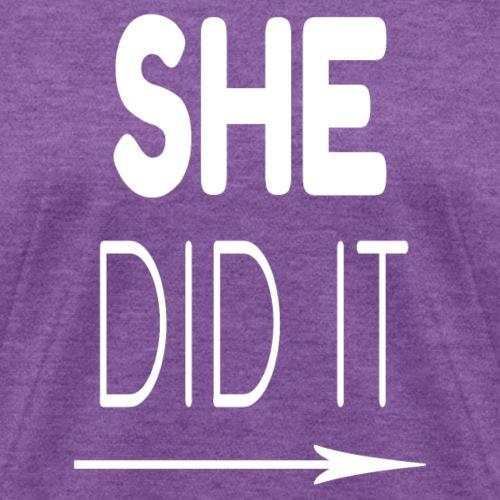 She Did It Right Arrow - Women's T-Shirt