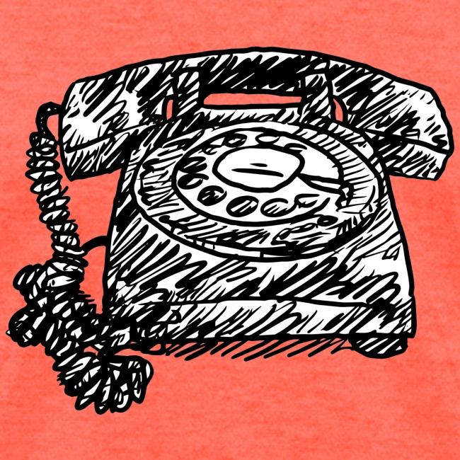 Vintage Telephone - Hot Line