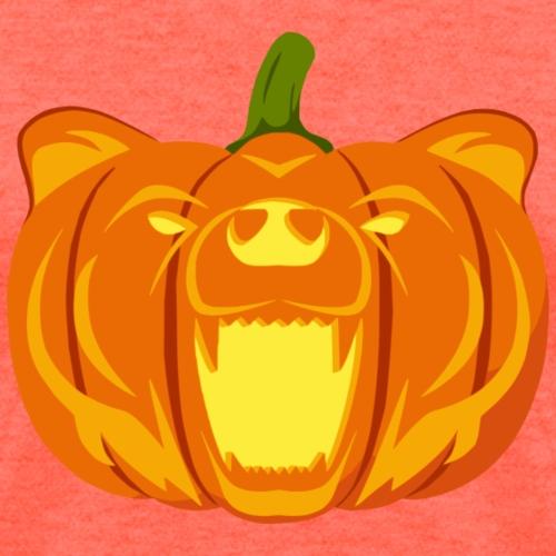 Pumpkin Bear - Women's T-Shirt