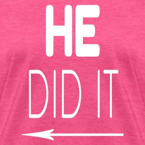 He Did It Left Arrow - Women's T-Shirt