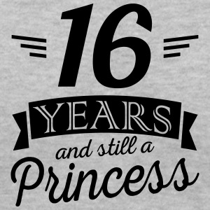 16 years and still a princess - Women's V-Neck T-Shirt