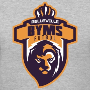 BYMSlogo - Women's V-Neck T-Shirt