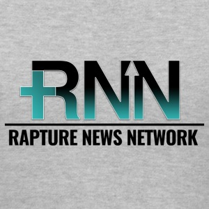 Rapture News Network Logo - Women's V-Neck T-Shirt