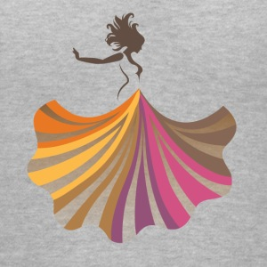 Festival dancer - Women's V-Neck T-Shirt