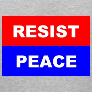 Resist-Peace - Women's V-Neck T-Shirt