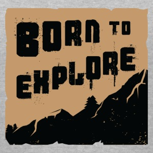Born to explore - Women's V-Neck T-Shirt