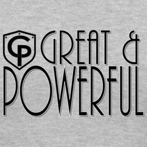 GreatAndPowerful - Women's V-Neck T-Shirt