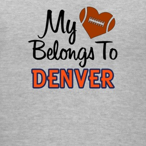 Denver Football - Women's V-Neck T-Shirt