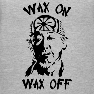 WAX ON WAX OFF - Women's V-Neck T-Shirt