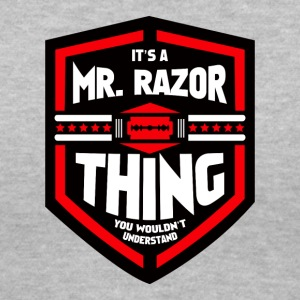 It's a Mr Razor Thing Trini - Women's V-Neck T-Shirt