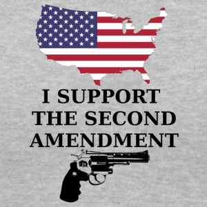 I Support the Second Amendment - Women's V-Neck T-Shirt