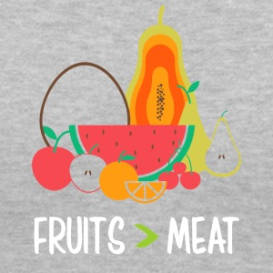 Fruits meat - Women's V-Neck T-Shirt