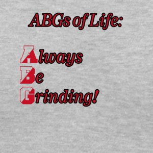 abg my lifes - Women's V-Neck T-Shirt