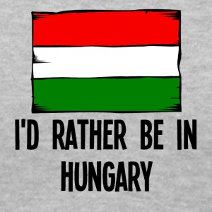 I'd Rather Be In Hungary - Women's V-Neck T-Shirt