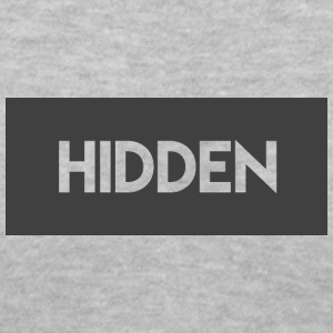 Hidden Grey and Transparent Logo - Women's V-Neck T-Shirt