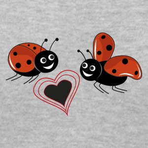 ladybird - Women's V-Neck T-Shirt