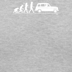 Evolution of Man classic car - Women's V-Neck T-Shirt