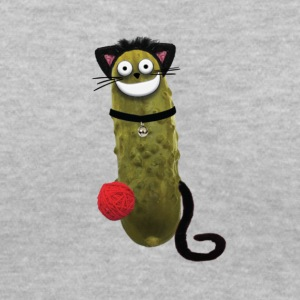 Pickle Puss - Women's V-Neck T-Shirt