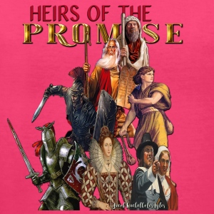 Heirs of the Promise - Women's V-Neck T-Shirt