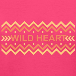 Wild heart - Women's V-Neck T-Shirt