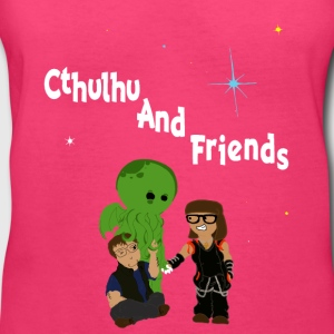 Cthulhu AND friends! - Women's V-Neck T-Shirt