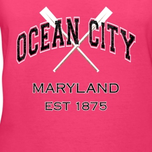 Ocean City Maryland Established 1875 - Women's V-Neck T-Shirt