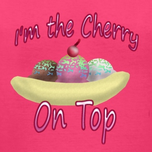 Cherry on Top - Women's V-Neck T-Shirt