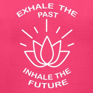 Exhale the past, Inhale the Future - Women's V-Neck T-Shirt