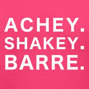 Achey Shakey Barre - Women's V-Neck T-Shirt