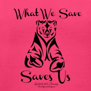 Saves Us_Living Northwest - Women's V-Neck T-Shirt